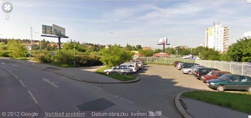 Snímek z Google Street view